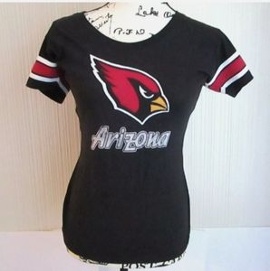 Arizona Cardinals NFL Team Apparel Embroidered Tee